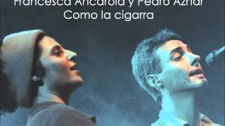 Francesca Ancarola y Pedro Aznar como la cigarra