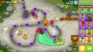 BTD6 Bloons Tower Defense 6 Streambed Hard Rounds 3-80 No Lives Lost NLL NAPSH