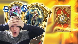 160 Grand Tournament Packs - GOLDEN LEGENDARY!!! - Hearthstone Pack Opening