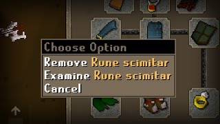 1,300 Hours for a Rune Scimitar - F2P Ultimate Ironman Progress