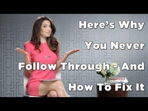 How To Follow-Through