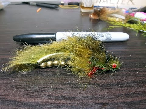 Scleech Articulated Streamer - Leech/Sculpin | Yellowstone Country Fly Fishing