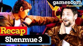 Shenmue 3 Gameplay auf der GC: Darum sind wir heiß auf's Spiel | gamescom 2019
