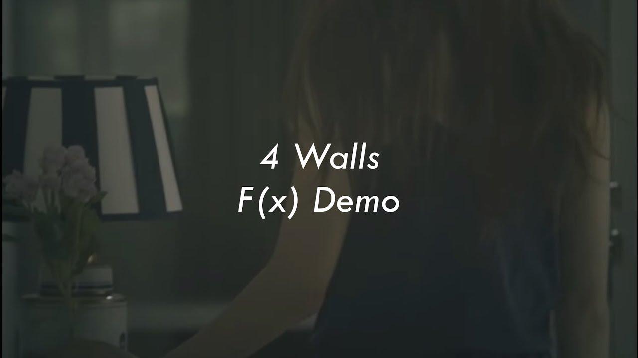 4 Walls | f(x) Demo Lyrics