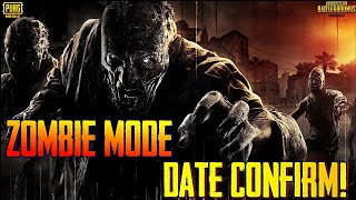 Pubg Mobile Zombie Mode Release Date Is Here !!