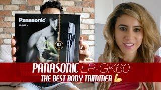 Panasonic ER-GK60 Review | Best Body & Intimates Trimmer for Men