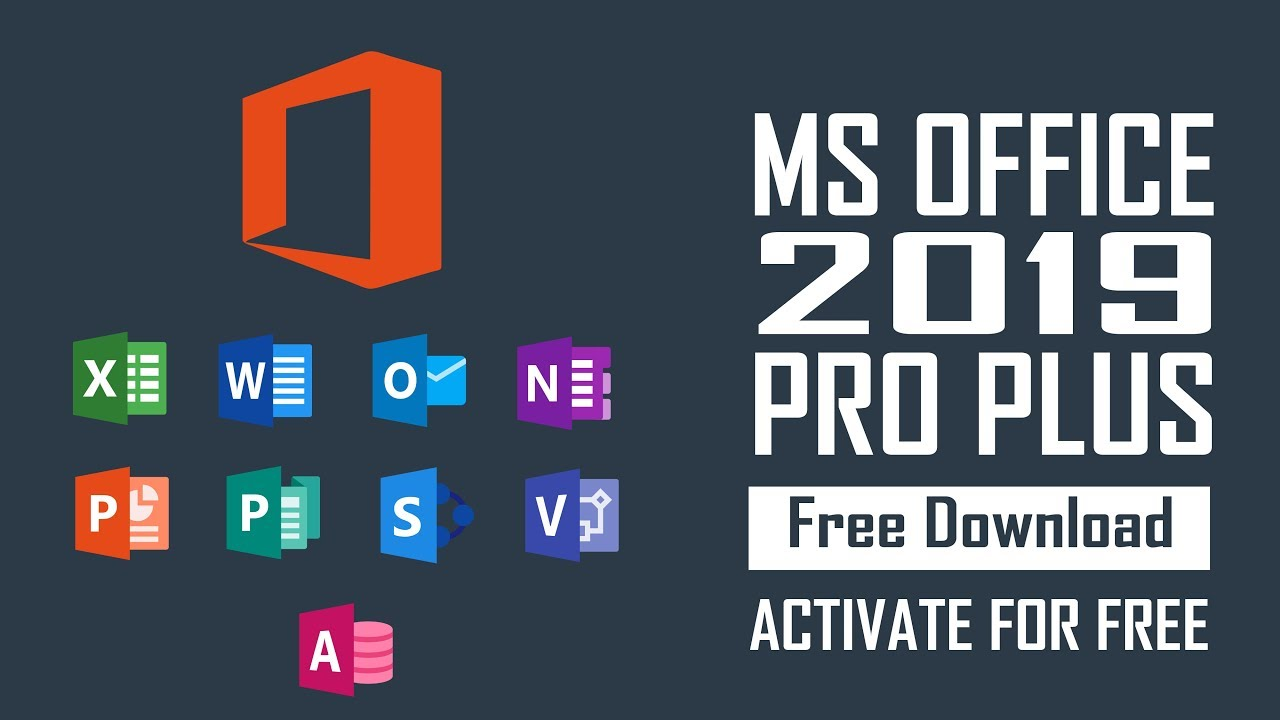 How to Get MS OFFICE 2019 Pro for Free - Activate | CRACK