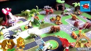 """Видео для детей """"Динозавры и мир юрского периода""""Коллекция от ДеАгостини Обзор игрушек DeAgostini"""