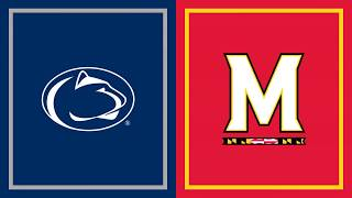 First Half Highlights: Penn State at Maryland | B1G Football