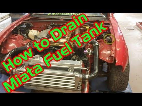 [QNCB_7524]  How to Drain Miata Fuel Tank (NA & NB) - YouTube   1992 Miata Fuel Tank Wiring Diagram      YouTube