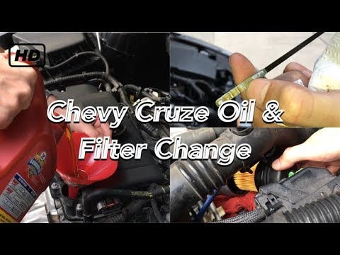 how to change transmission filter on 2011 cruze