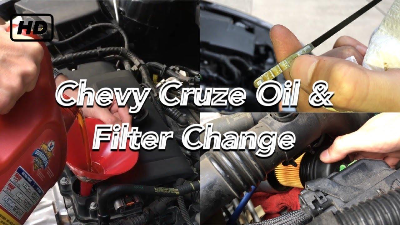 chevy cruze oil filter change 2008 2016 1 4l turbo youtube. Black Bedroom Furniture Sets. Home Design Ideas