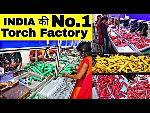 India की No. 1 Torch Factory   Globeam   Kisan Torch,Solar Light, Emergency Light,Lamp,Torch