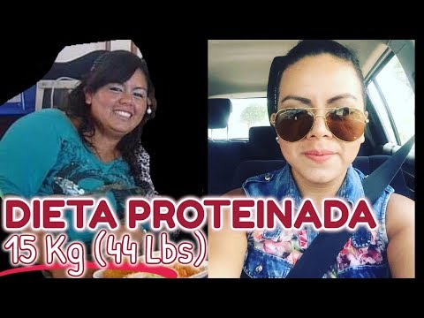 ? COMO BAJE 15 kg (44 LBS) | COMO BAJE DE PESO DIETA PROTEINADA | 100% EFECTIVA MI EXPERIENCIA