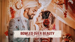 BOWLED OVER BEAUTY - Krunal Pandya & Pankhuri Sharma hitched. Hardik Pandya can't keep calm!