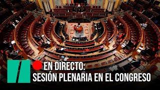 EN DIRECTO: Sesión de control al Gobierno