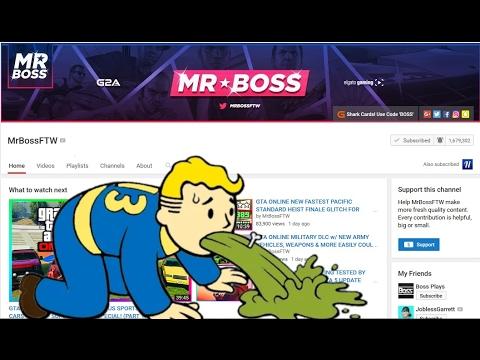 mrbossfortheloss mrbossftw rant youtube