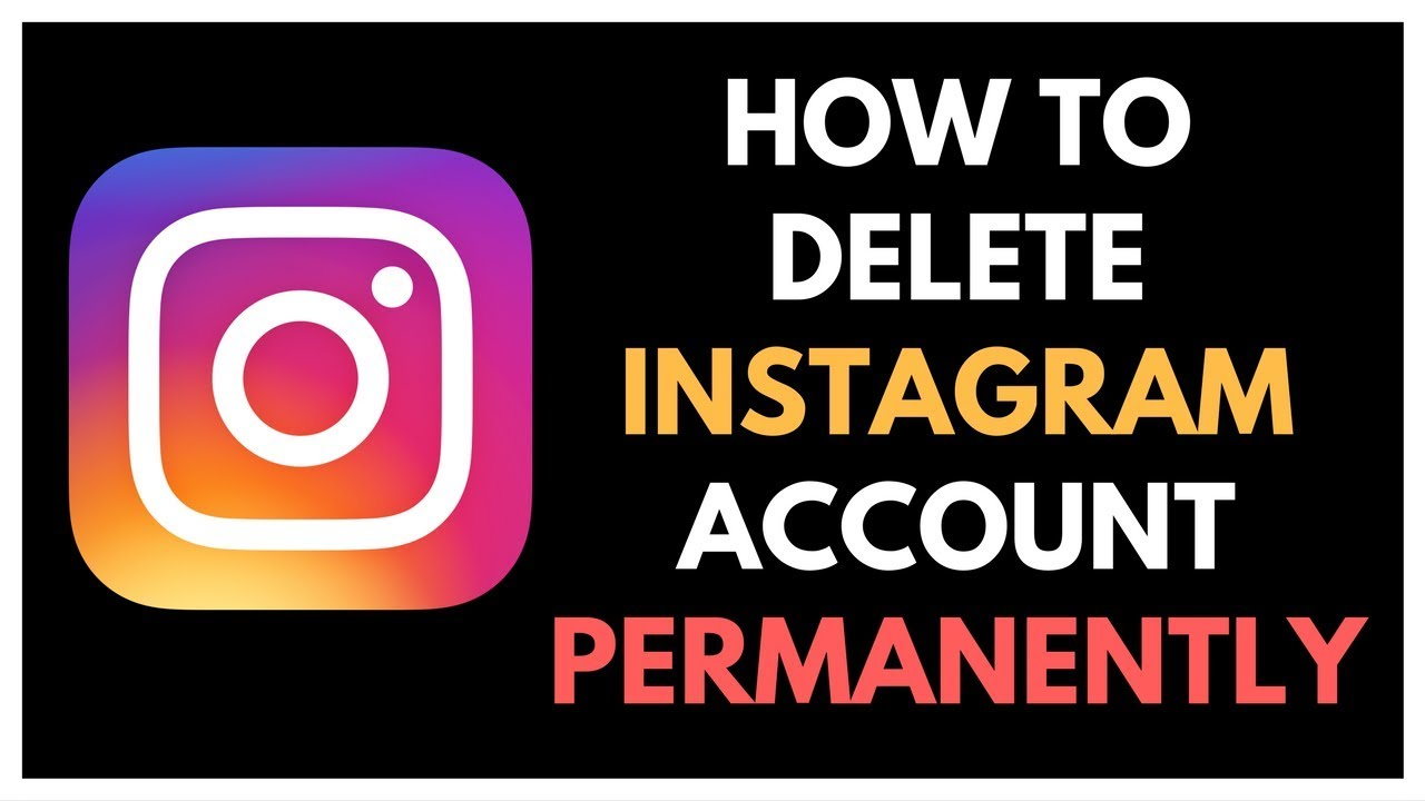 How To Delete Instagram Account Permanently On Android Trick 2017