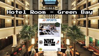 Hotel Room NHL 94 - Sega Genesis - Green Bay, WI