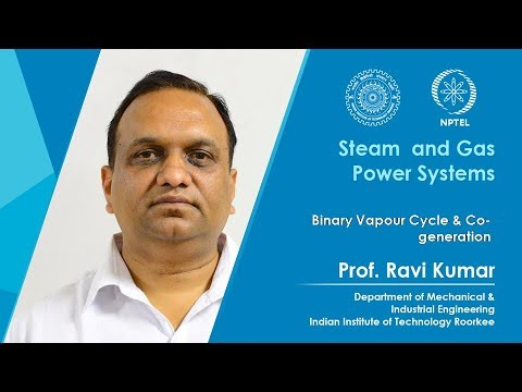 Lecture 04: Binary vapour cycle and co-generation