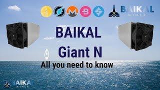 Baikal Giant N, Electroneum, Monero ASIC miner