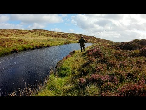Isle Of Lewis Sea Trout Fishing On The Gress River