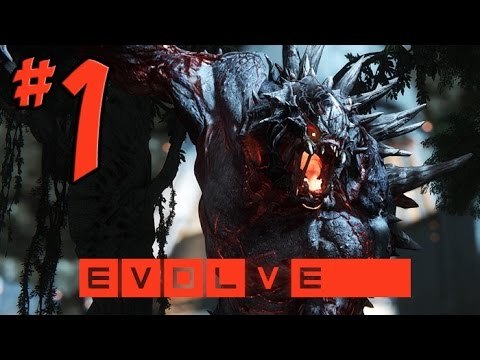 Evolve Multiplayer Gameplay W/ Commentary - PART 1 - Cool Monsters Pee Their Pants (PS4 / Xbox One)