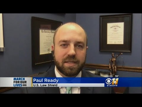 March for Our Lives    Paul Ready at U.S. Law Shield Discusses