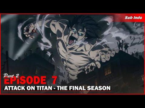 AoT Season 4 Ep 7 (FULL FIGHT) Sub Indo
