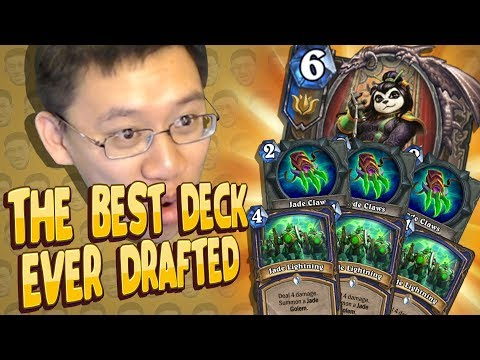 LITERALLY THE BEST DECK I EVER DRAFTED! - Shaman Arena - Part 1 - Kobolds And Catacombs