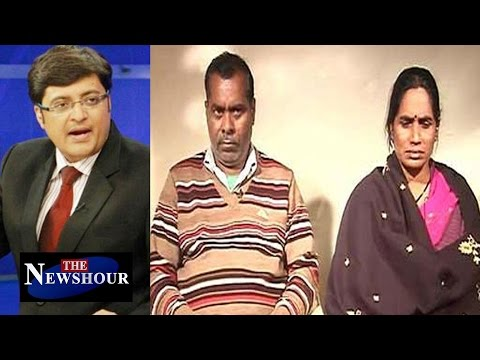 Arnab Goswami Interviews Nirbhaya's Parents : The Newshour D