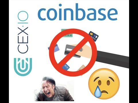 WHY CREDIT CARDS ARE BANNED FROM CRYPTOCURRENCY | COINBASE CEX.IO