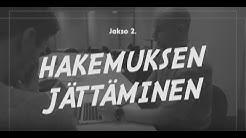 Barona & Niko Kivelä - työnhakuvinkit 2019: Hakemuksen jättäminen