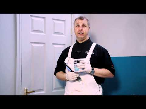 Crown Paints Pure Brilliant White Gloss and Satin - YouTube