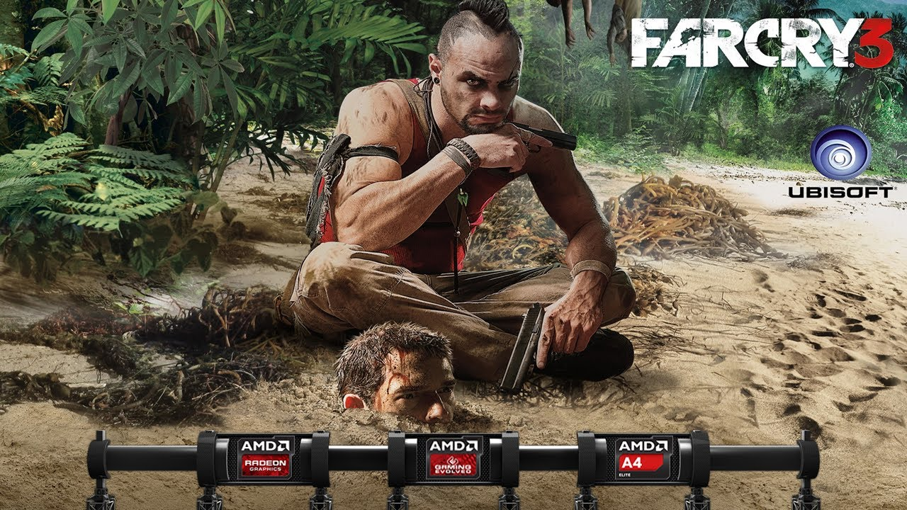 Far Cry 3 On Amd A Series Apu Richland A4 6300 And Amd Radeon Hd 8370d Gameplay Youtube