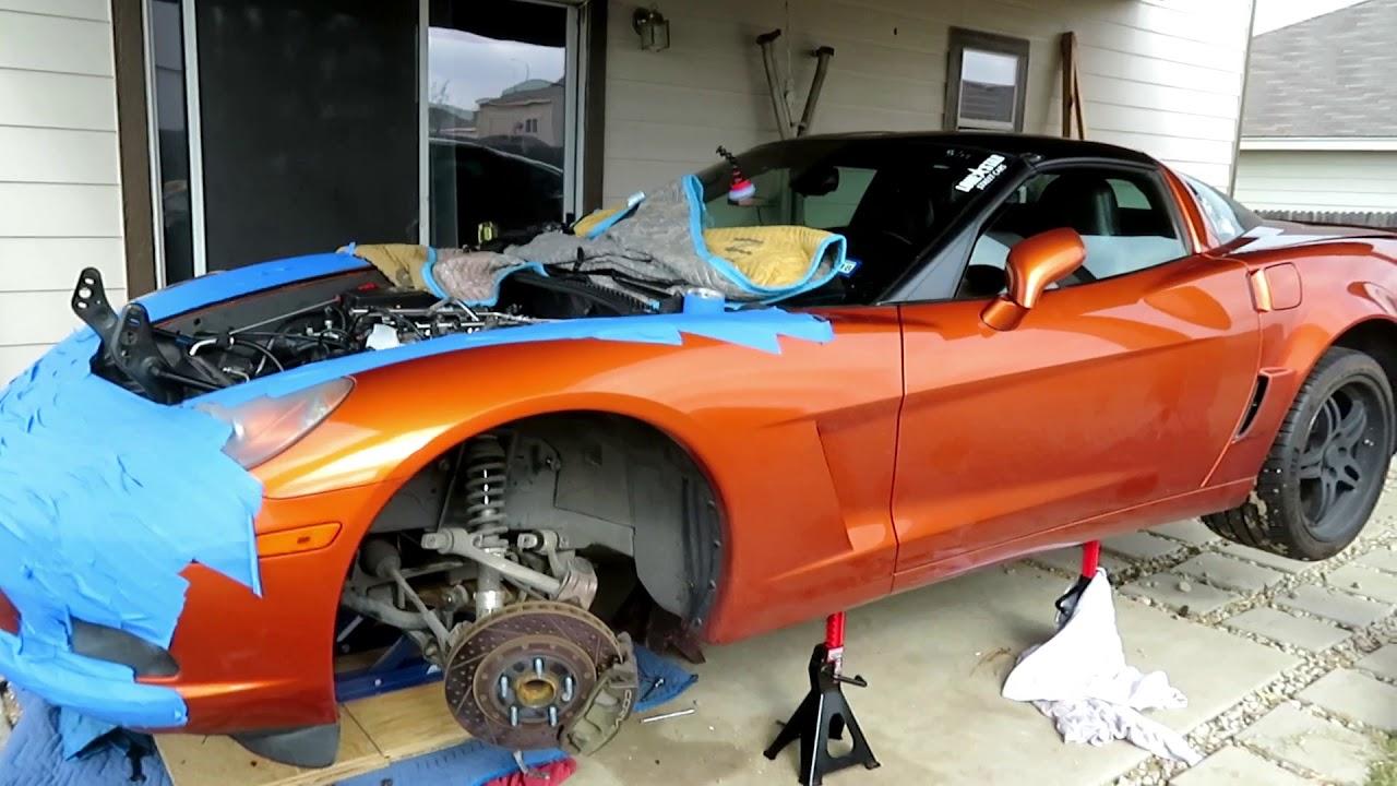 True Backyard Mechanic at Work!: C6 Corvette LS3 Swap Part ...