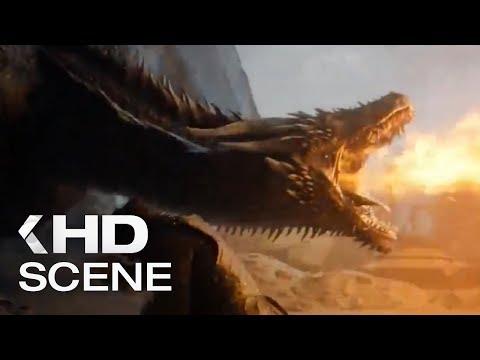 Джон убивает Дейенерис, Дрогон уничтожает Железный трон [ Фрагмент из сериала Игра престолов 8x06 ]