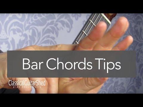 Bar Chord Comfort: Tips For Easier Barre Chords On Guitar