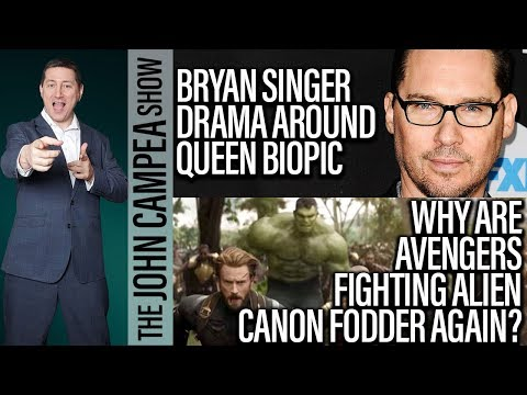 Queen Biopic Stops Production, Avengers Fighting Alien Cannon Fodder Again - The John Campea Show