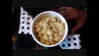 Butter beans poriyal