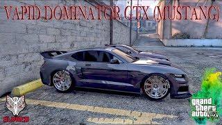GTA 5 My New VAPID DOMINATOR GTX (MUSTANG) build  (PS4)