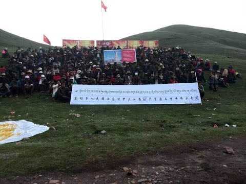 Rare Video Shows Tibetan Anti-Mining Protest