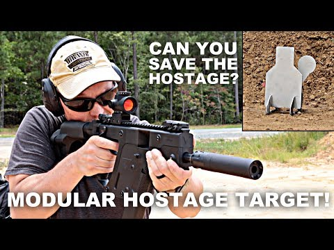 Modular Hostage Target! Can You Save the Hostage?
