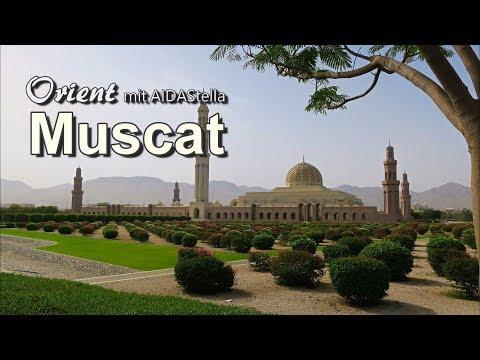 Muscat Orient Kreuzfahrt mit AIDAstella Sultan Qaboos Moschee