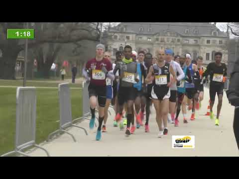 Itelligence Citylauf Dresden on March 21, 2021 - Elite men half marathon (FULL RACE)
