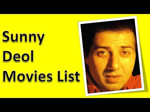 Sunny Deol Movies List