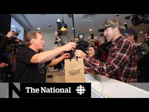 First legal weed sold in Canada at St Johns shops