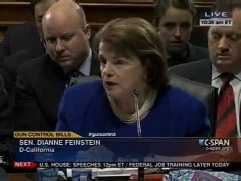 Ted Cruz & Dianne Feinstein Explosive Debate Over Gun Control In Senate: