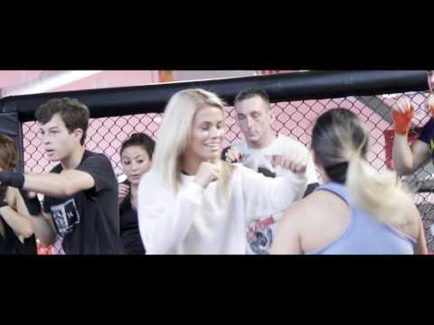 UFC GYM Huntington Beach Opening With Paige VanZant