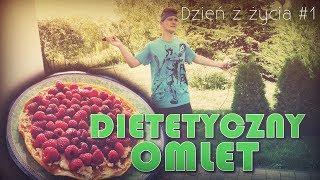 Dzień z życia #1- dietetyczny omlet! :D